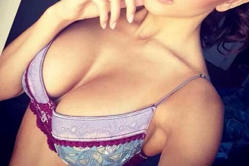 Selfie coquin en lingerie
